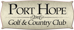 Port Hope Golf Logo